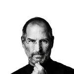 Steve Jobs Wallpaper for iPad
