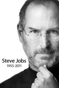Steve Jobs Wallpaper for iPhone 3GS