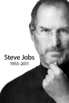 Steve Jobs Wallpaper for iPhone 4