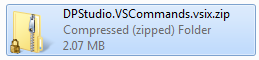 vsix renamed to zip